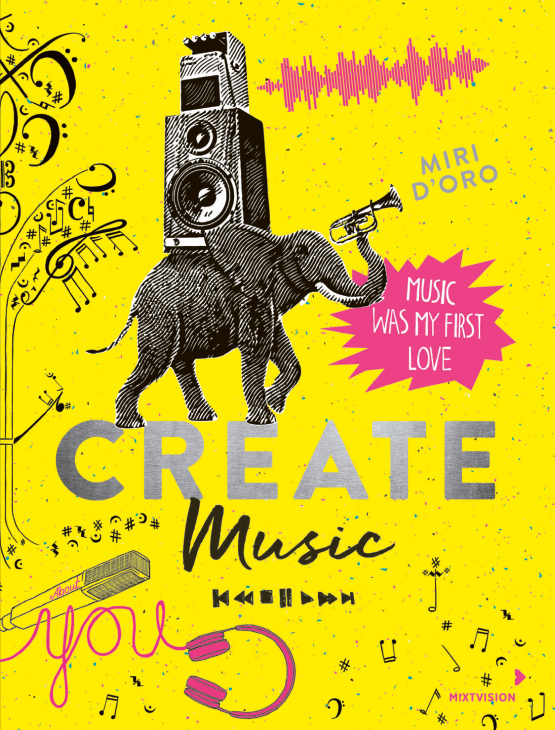 Create music cover resized