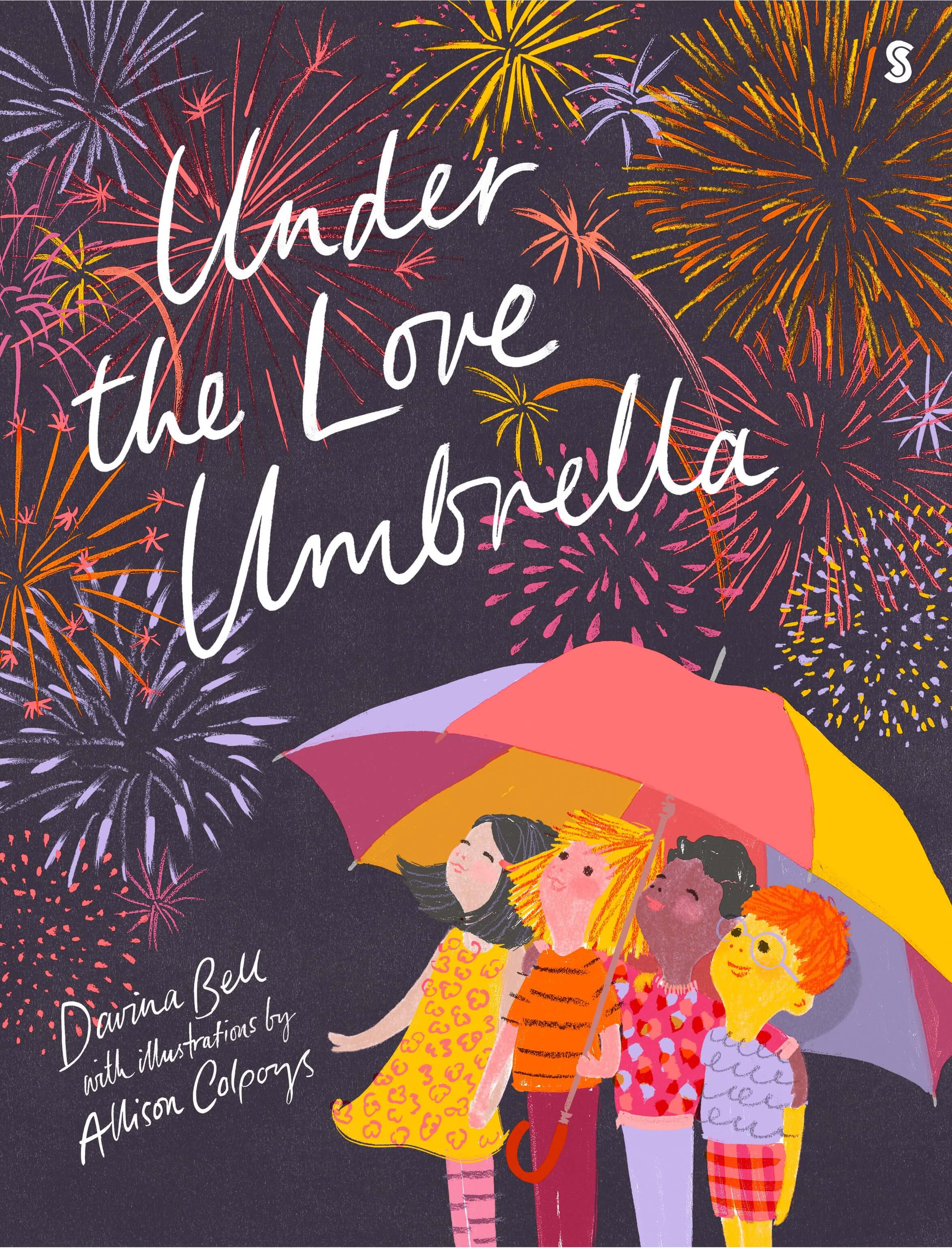 SCRIBBLE UNDER THE LOVE UMBRELLA COVER JPEG RESIZED