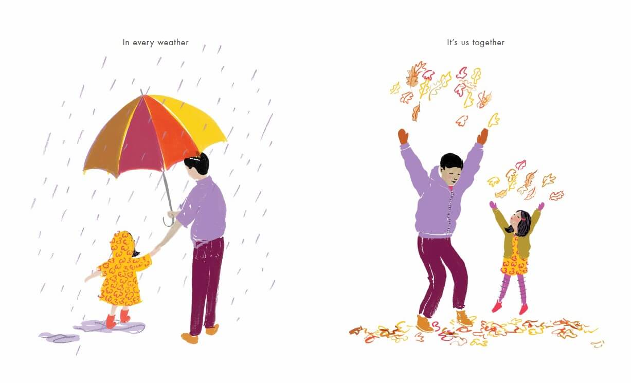 SCRIBBLE UNDER THE LOVE UMBRELLA SPREAD 3 JPEG RESIZED