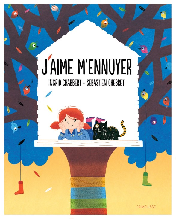 FRIMOUSSE J'AIME M'ENNUYER COVER