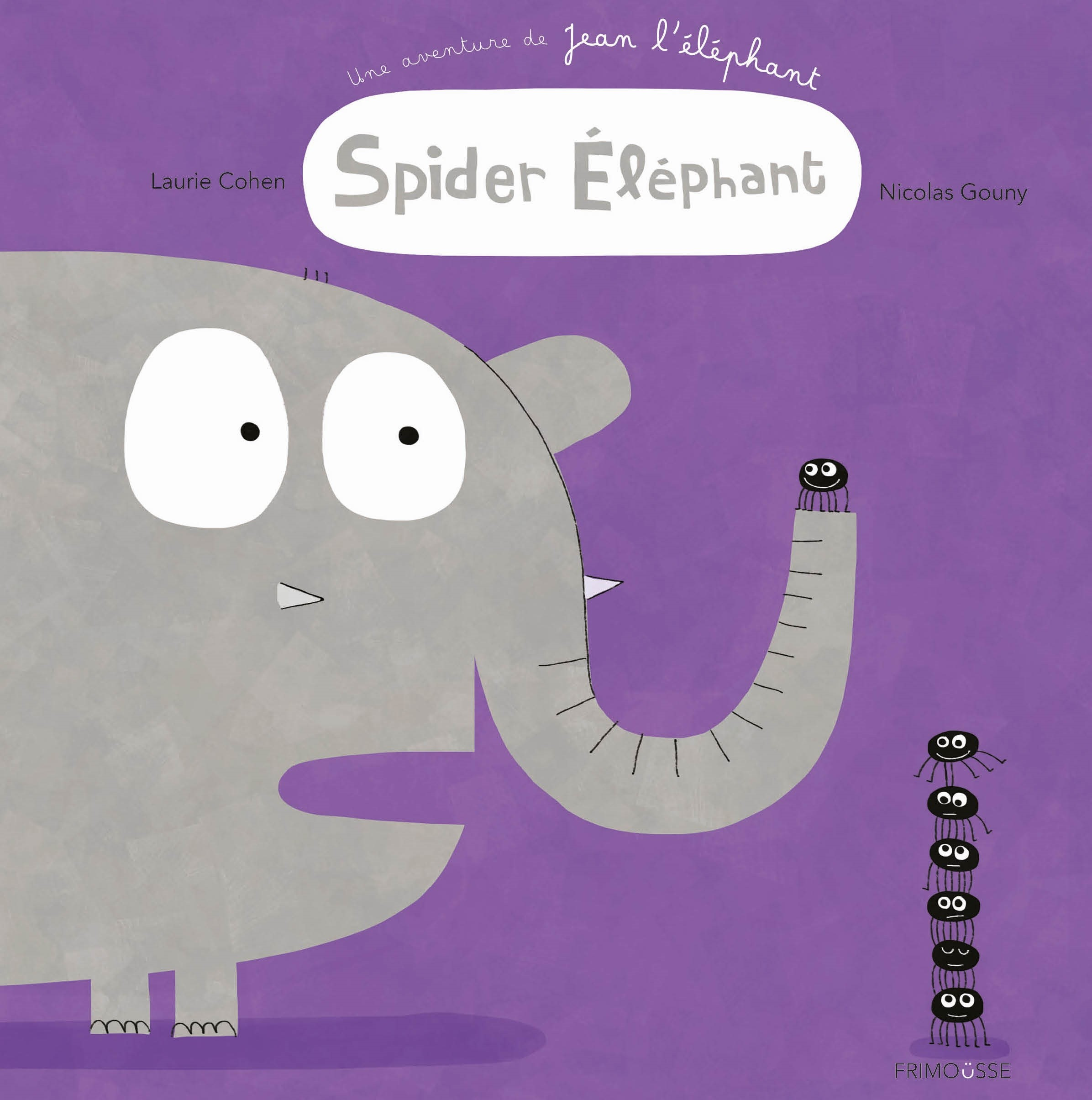FRIMOUSSE SPIDER ELEPHANT COVER