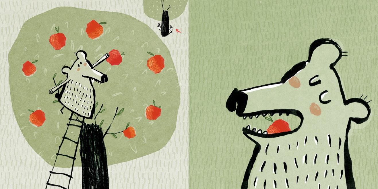 10 petites pommes spread 3