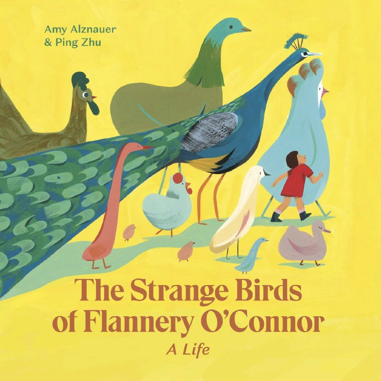 ENCHANTED LION THE STRANGE BIRDS OF FLANNERY O'CONNOR COVER