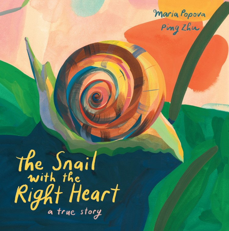 ENCHANTED LION THE SNAIL WITH THE RIGHT HEART COVER