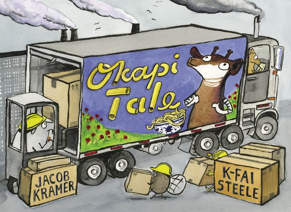 OKAPI TALE COVER