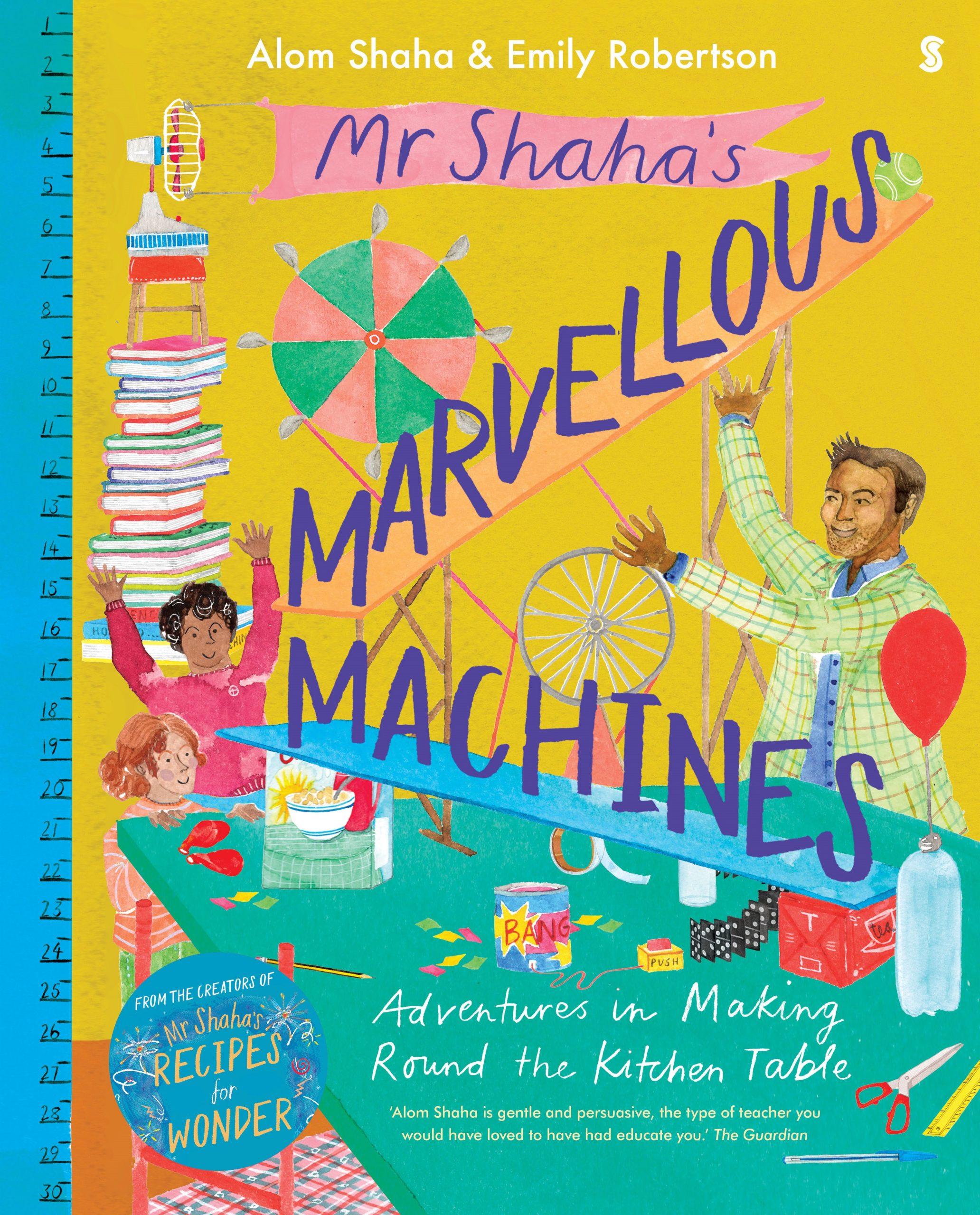 MR SHAHA MARVELOUS MACHINES cover