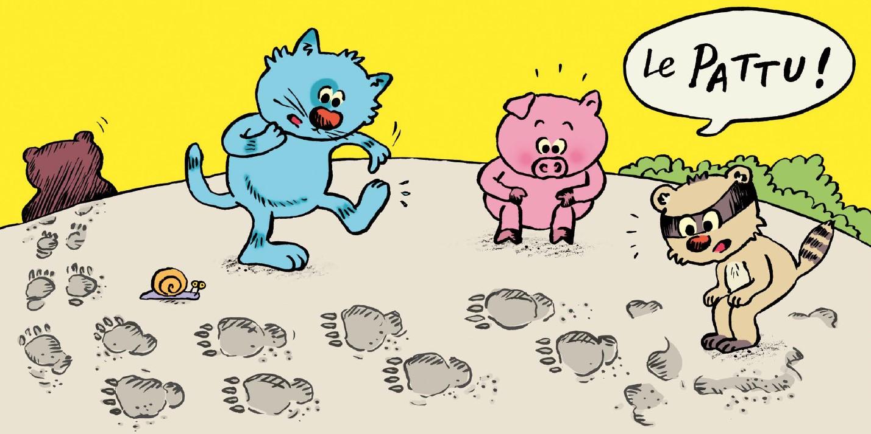 qui a vu l'ours frimosse inside 3