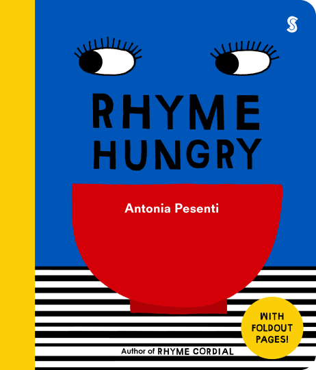 RHYME HUNGRY COVER SCRIBBLE BBF 2021
