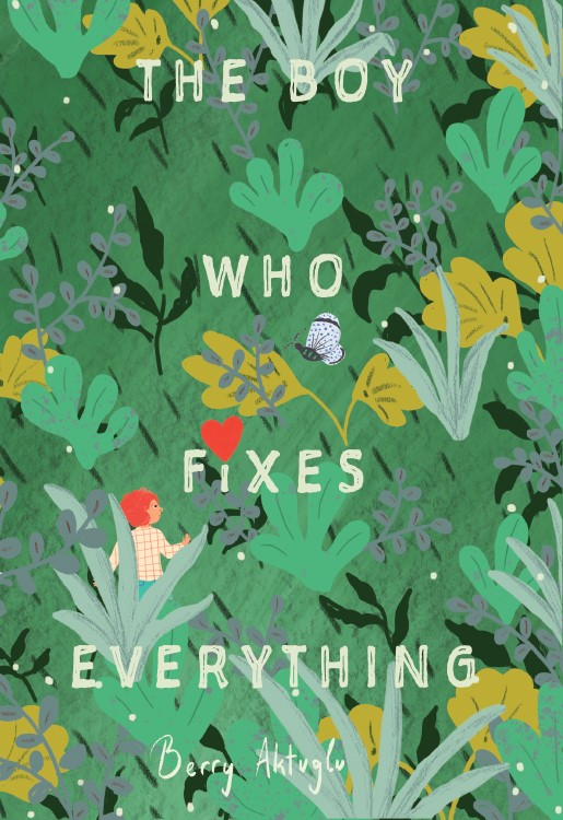 THE BOY WHO FIXES COVER